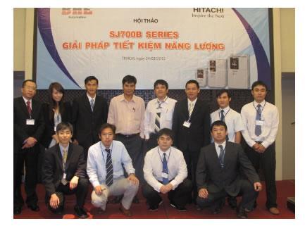 BHE Co.,Ltd tìm Đại lý phân phối Biến tần HITACHI